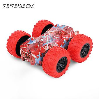 子供のおもちゃ両面慣性スタント車子供の迷彩車オフロードモデル誕生日プレゼント