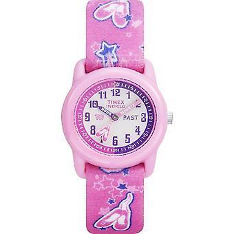 Reloj de Timex Kidz Tutu bailarina tiempo maestros (T7B151)