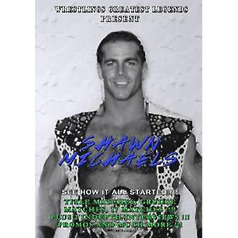 Legends of the Square Circle Shawn Michaels [DVD] USA import
