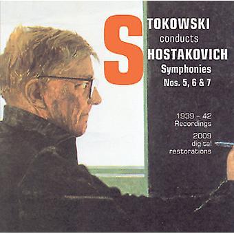 Dmitry Shostakovich - Stowkowski Conducts Shostakovich [CD] USA import