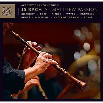 Bach, j.s. / Aam / Chor der Aam / Egarr - St. Matthew Passion [CD] USA import
