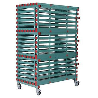 REA Plasrack Mobile Lockable Equipment Storage Rack - Large