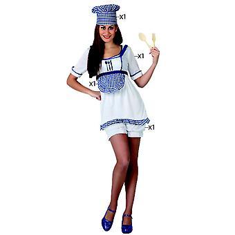Vrouwen kostuums Chef kostuum