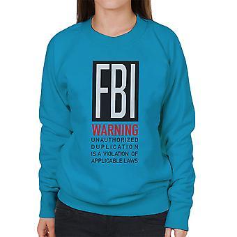 FBI hauska lainaus Naisten huppari