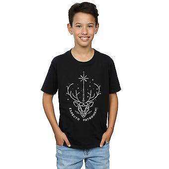 Harry Potter muchachos Expecto Patronum encanto t-shirt
