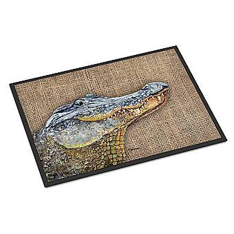 Carolines Treasures  8733JMAT Alligator  Indoor or Outdoor Mat 24x36 Doormat