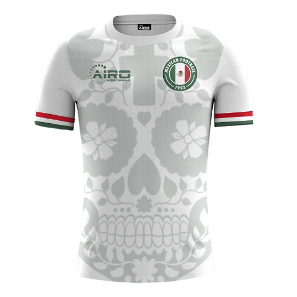 2020-2021 Messico Away Concept Football Shirt