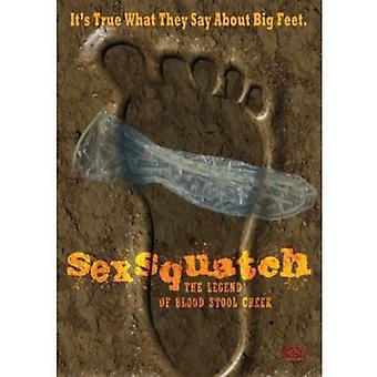 Sexsquatch: The Legend of Blood Stool Creek [DVD] USA import