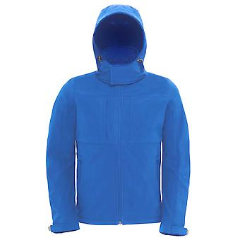 B&C Mens High performance Full Zip hooded softshell jacket S,M,L,XL,XXL,3XL