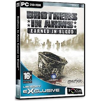Brothers in Arms Earned in Blood (PC DVD) - Neu