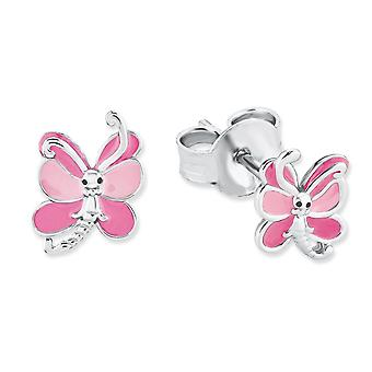 Princess Lillifee children earrings silver Butterfly 2018037