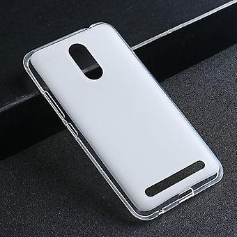 Silikoncase transparent lock för ZTE blade A602 väska case tillbehör ny