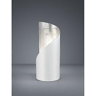 Trio Lighting Frank Modern White Matt Metal Table Lamp