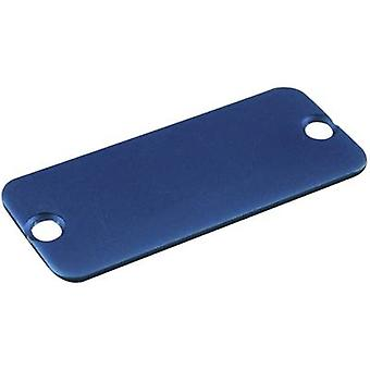 Hammond Electronics 1455RALBU-10 End cover Aluminium Blue 1 pc(er)