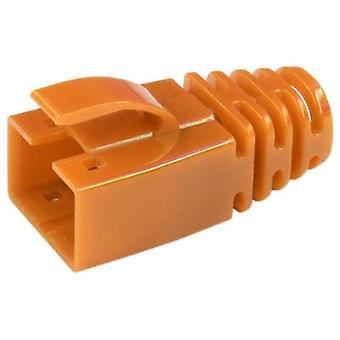 Kilitleme kolu korumalı gerinim kabartma kılıfı 39200-850 Orange BEL Stewart Konektörler 39200-850 1 adet(ler)