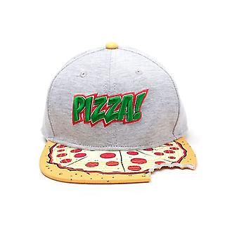 Teenage Mutant Ninja Turtles Pizza met Cut Out Snapback Cap meerkleurige