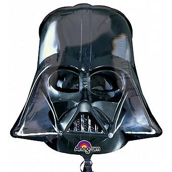 Anagram Supershape Darth Vader Helmet Foil Balloon