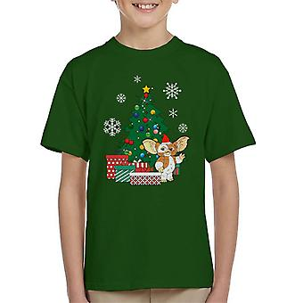 Gizmo autour T-Shirt de l'arbre de Noël Gremlins enfant