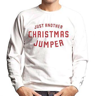 Sweatshirt juste un autre Noël cavalier homme