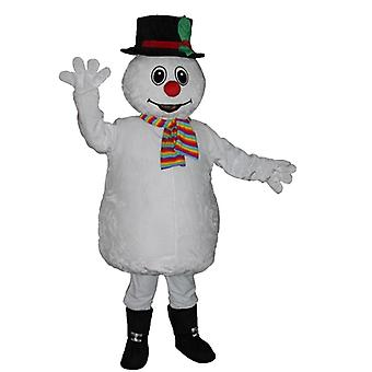 mascot SPOTSOUND snowman, soft, colorful and cute