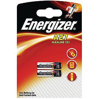 Energizer Alkaline batteri A27 12v-639333 og 2-blister
