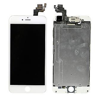 לאייפון 6 פלוס - מסך LCD מלא עם חלקים קטנים - לבן - באיכות גבוהה