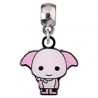 Harry Potter Silver Plated Charm Chibi Dobby