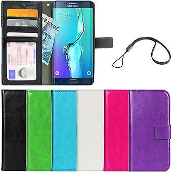 Plånboksfodral Galaxy S6 Edge PLUS  ID Ficka + Handlovsrem