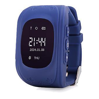 GPS smartwatch for kids-dark blue