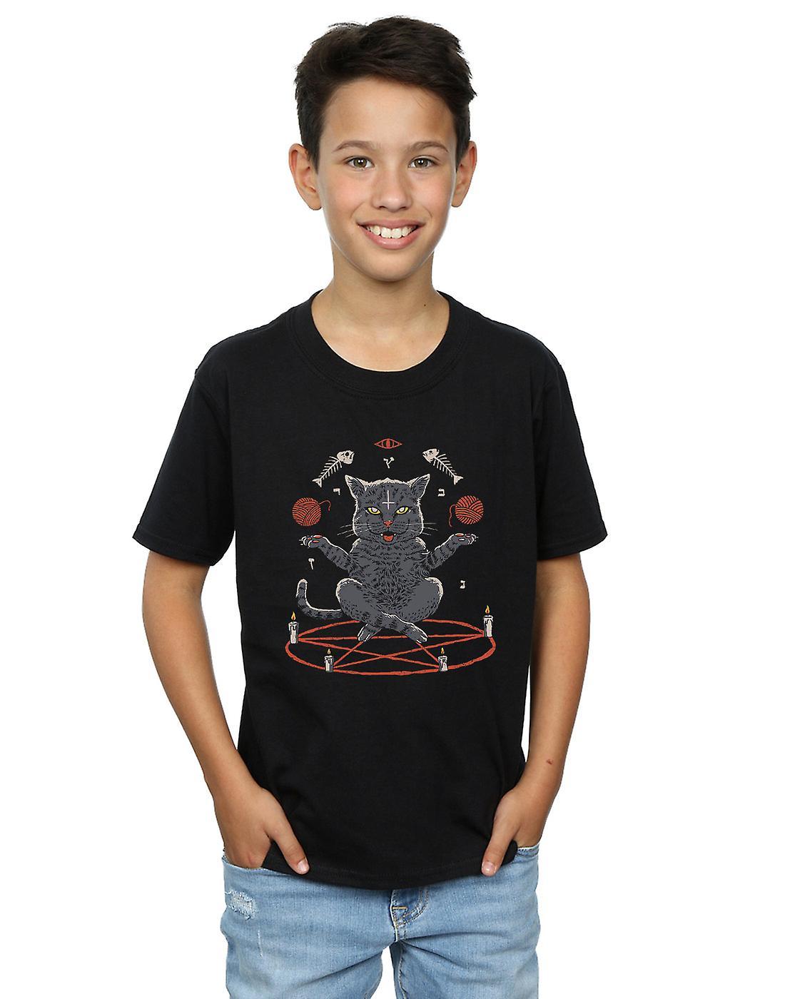 Vincent Trinidad Boys Devious Cat T-Shirt