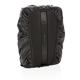 Cubierta de lluvia XD diseño mochila anti-robo de Bobby Bizz y bolso negro de archivo