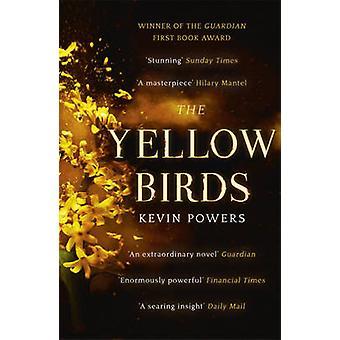 Os pássaros amarelos por Kevin poderes - livro 9781444756142