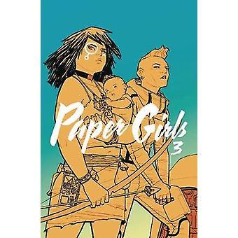 Papel niñas volumen 3 de Brian K. Vaughan - libro 9781534302235
