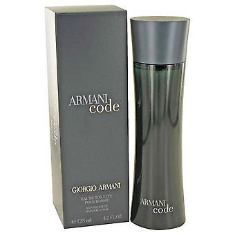 Giorgio Armani Code Eau De Toilette 125ml EDT Spray