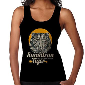 Sumatran Tiger Save The Habitat Women's Vest