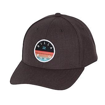 Billabong menns Snapback Cap ~ tema grå