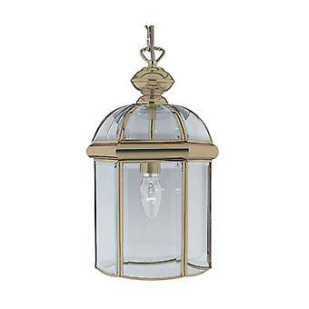 Ottone anticato una lanterna luce pendente - Searchlight 7131AB