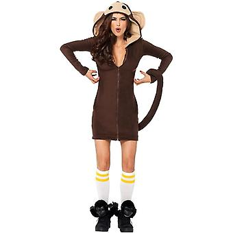 Cozy Monkey Adult Costume