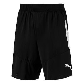 Puma Mens Tech brei Shorts Performance Broek broek bodems lichtgewicht Zip