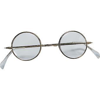 Santa lunettes rondes
