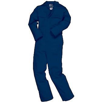 Portwest Mens Bizweld schwer entflammbar Coverall / Arbeitskleidung (2 Stück)