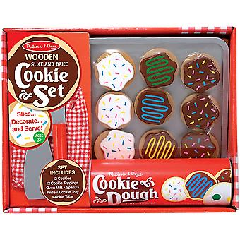 Comida de madeira Set-fatia & Bake Cookies