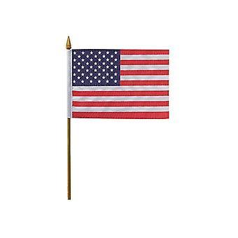 Ondeggiamento della mano USA bandiera 12