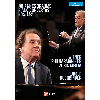 Piano Concertos 1 & 2 [DVD] USA import