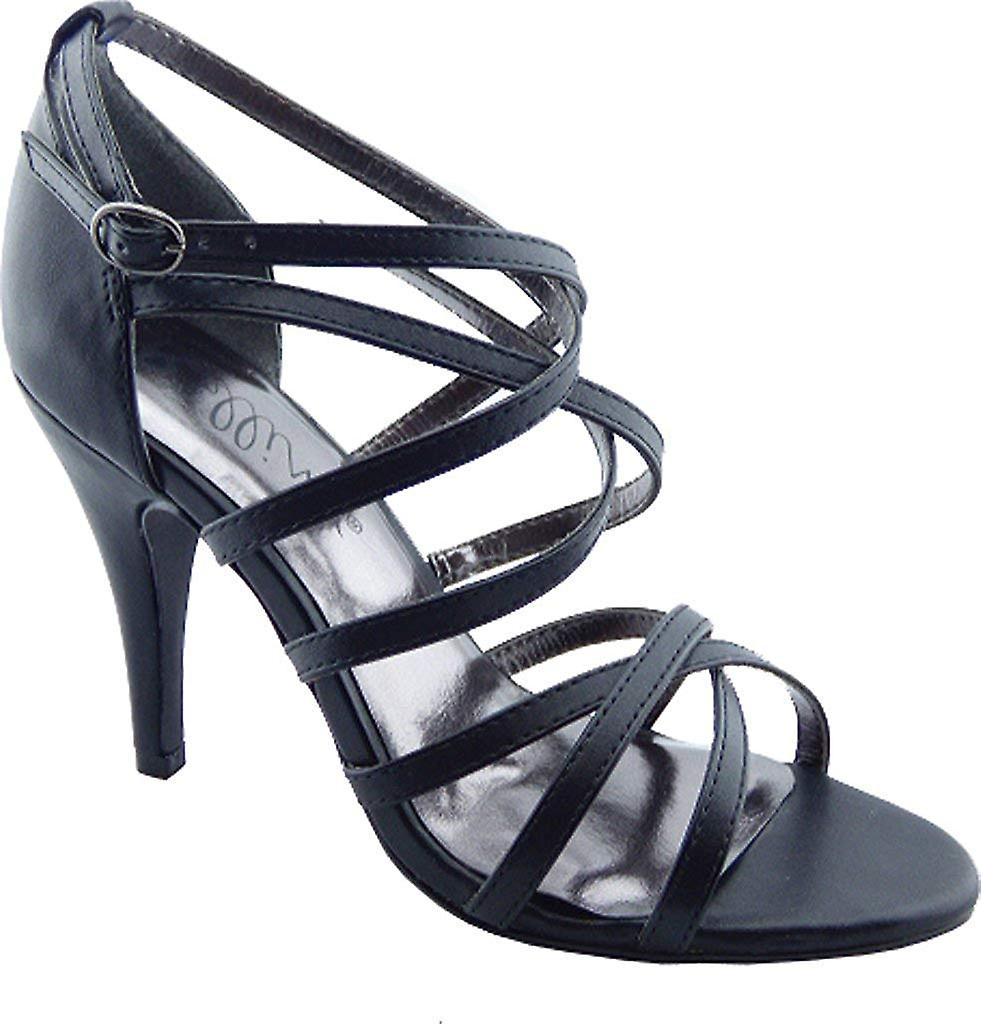 Bellini Womens Majesty Leather Open Toe Casual Strappy Sandals PsxtD