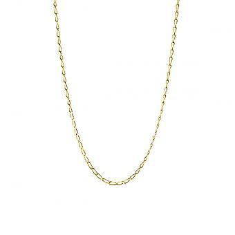 Eternity 9ct Gold 20'' Diamond Cut Open Rada Curb Chain