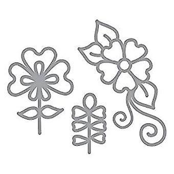 Spellbinders Detaillierte Die dainty Florals