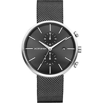 Relógio masculino Jacob Jensen 626 Linear