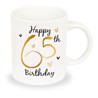 Simply Gifts Foiled Unisex 65th Birthday Mug