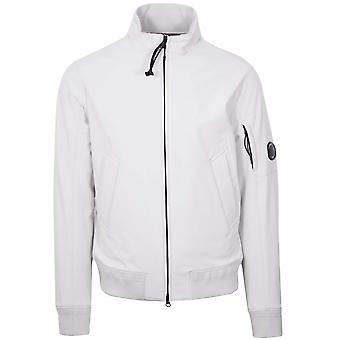C.P. Company White Soft Shell Jacket